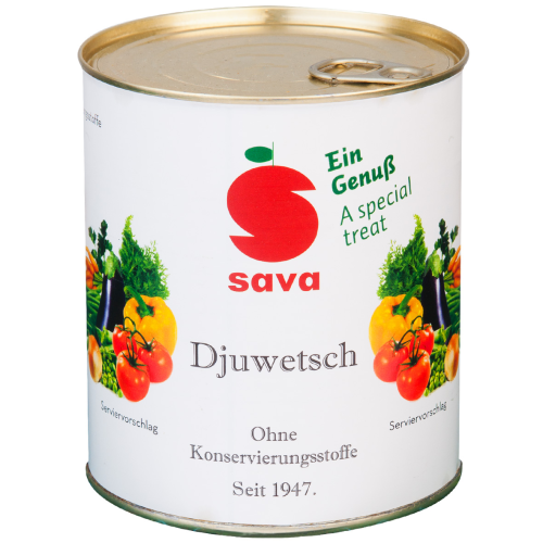 SAVA - Djuwetsch 850ml