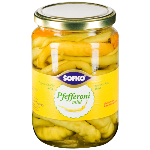 SOFKO - Pfefferoni mild 720ml