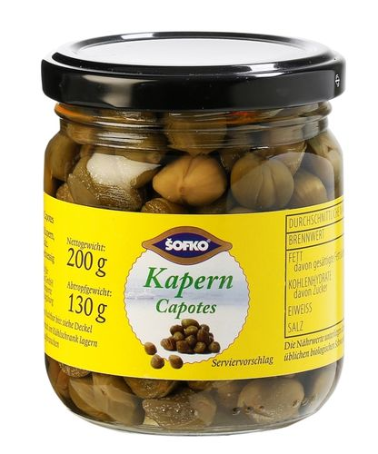 SOFKO - Kapern Capotes  210ml
